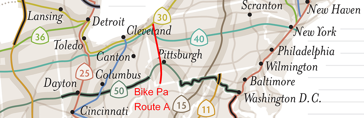 US Bicycle Route System - Us bike route map