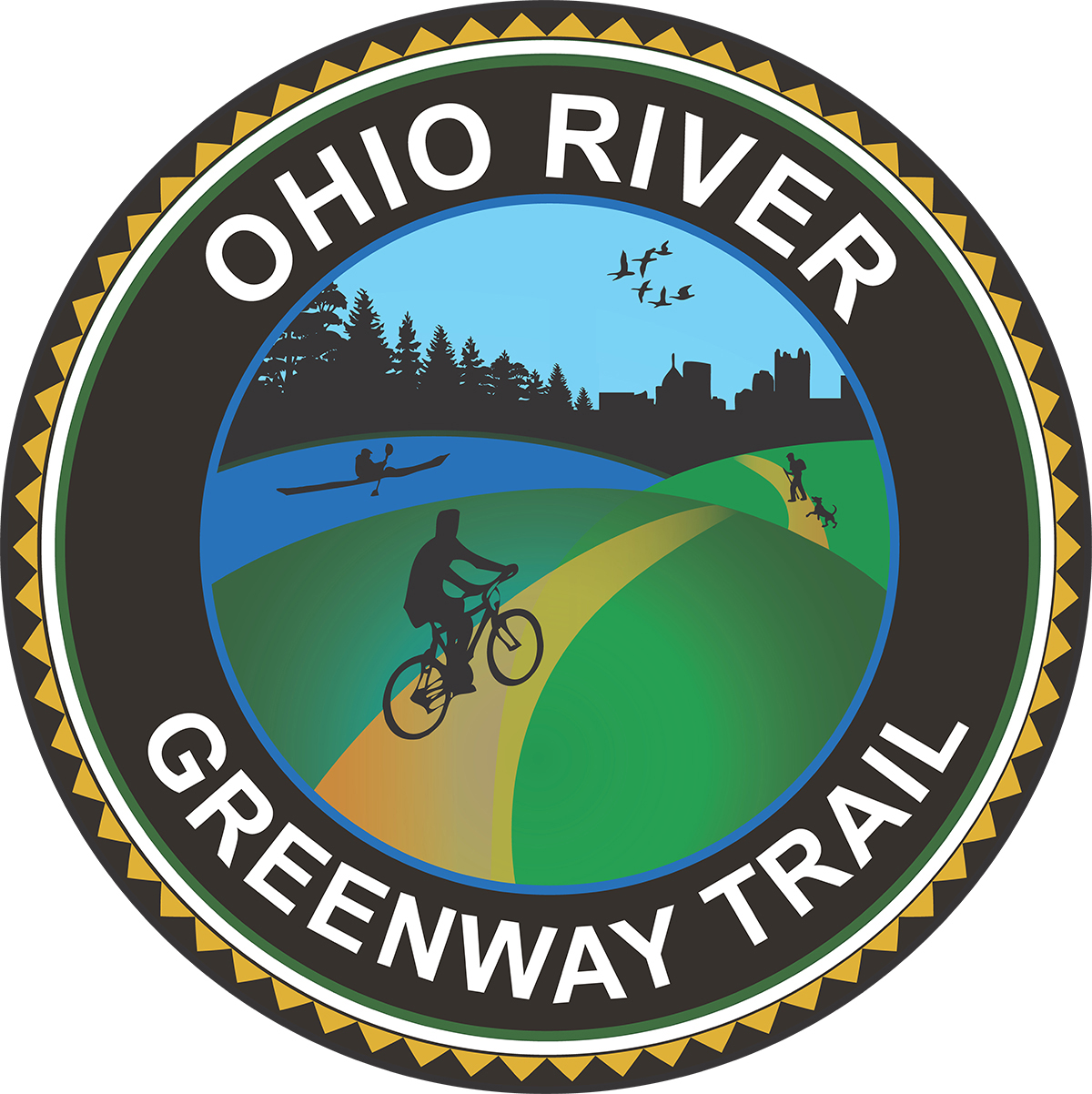Ohio River Greenway Trail Logo